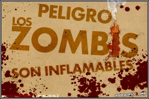 Los Zombis son inflamables
