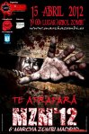 Marcha Zombi Madrid 2012 - Cartel
